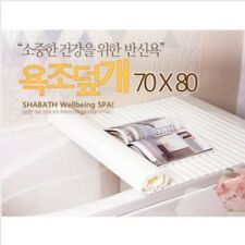 SHABATH SPA Bathtub Cover Shutter Lid White Keep warm & clean 70x80cm Wellbeing