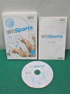 Nintendo Wii -- Wii Sports -- JAPAN GAME. 50869
