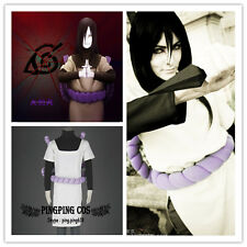 Naruto Cosplay Costumes Orochimaru Suit any size * Custom-made