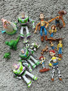 Toy Story Toy Figures Bundle Woody Buzz lightyear jessie rex