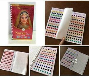 Suhag STICKER KUMKUM Book Bindi Multi Color // 960 Pcs. Approx + Free Ship