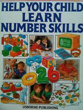 Help Your Child Learn Number Skills pre-school USBORNE ISBN 9780746003152