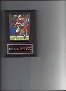 COLIN KAEPERNICK PLAQUE SAN FRANCISCO FORTY NINERS 49ers FOOTBALL NFL