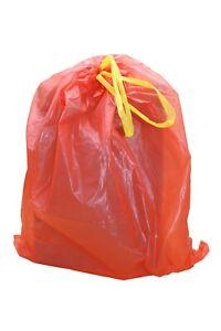 Duft Müllbeutel mit Zugband Mülltüten Abfallsäcke Abfallbeutel 60 L - bubble gum