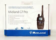 MIDLAND G7 PRO COLORE NERO RICETRASMETTITORE PMR446/LCD DUAL BAND RADIO CB