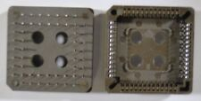 Ic Socket Plcc052Tlans - 52-Pin Tin-Plate Pcb - *Unused*Nos* - Qty:12