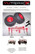 TX191 NEW YUTRAX TRACKING BEAM Utility Tow Cart Trailer Conversion Kit ONLY