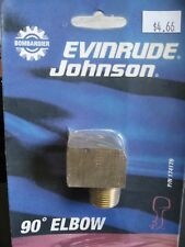 BOMBARDIER EVINRUDE JOHNSON 90 DEGREE ELBOW P/N 174179