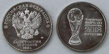 Russland / Russia 25 Rubel 2018 FIFA Fußball-WM 2018 Pokal unz.