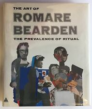 Romare Bearden Prevalence of Ritual SIGNED HCDJ Abrams First Edition 1972