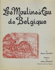 Les Moulins à Eau de Belgique - Provinces d'Anvers et du Brabant | Desart | 1963