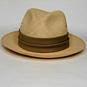 Vintage Churchill Ltd Straw Hat Size 7 Ecuadorian Panama