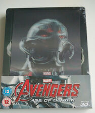 The Avengers Age of Ultron 3D 2D | Lenticular Limited Steelbook 2-Discs NEU NEW