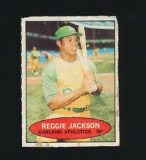 1971 Bazooka Bubble Gum -No-# REGGIE JACKSON (Oakland Athletics-A's) *Tough* HOF