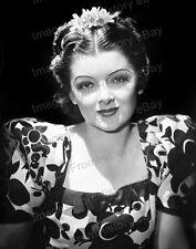 8x10 Print Myrna Loy Beautiful Portrait 1936 #5400993