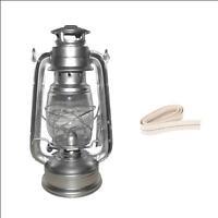 lampe a petrole tempête de style ancienne + 4 mèches / le lot