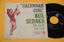 "NEIL SEDAKA 7"" 45 CALENDAR GIRL 1°STAMPA ORIG ITALIA ANNI '60"
