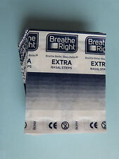 240 breathe right extra transparent BANDE nasales CEROTTO nasale TIRAS nasales