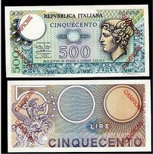 500 Lire Mercurio 1974 Campione FDS
