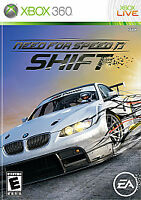 Need for Speed: Shift (Microsoft Xbox 360, 2009) NEW SEALED FAST SHIPPING NTSC