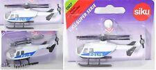 Siku 0807 03000 Polizei-Hubschrauber MBB Bo 105 CBS-5 Super, POLIS, OVP Schweden