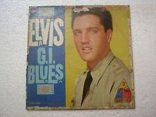 ELVIS PRESLEY ELVIS IN G I BLUES  RARE LP RECORD vinyl  USA ex