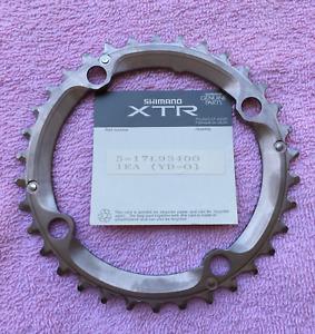 Shimano XTR M950/951/952 series 34 chain ring. Vintage, NOS