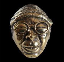 Bronze Sun Ra Ring Custom Size Handmade Poet Composer Jazz Fusion Doo Wop R-154b