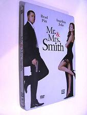 DVD - Mr. & Mrs. Smith (2005) PERFETTO!!! Steelbook Metal Box 2 DVD! Pitt, Jolie