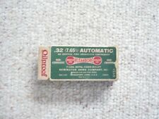 Vintage Empty Ammo Box Remington Kleanbore .32 (7.65) Automatic Made In Usa
