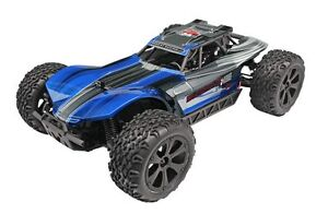 1/10 Brush 4WD Redcat BLUE RC Buggy BLACKOUT XBE  Waterproof Electronics