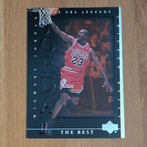 Michael Jordan 1999-00 Upper Deck Century NBA Legends The Best #82