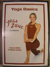 Yoga Zone - Yoga Basics for Beginners (DVD, 2002) BRAND NEW!