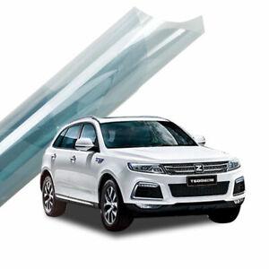 Light Blue Window Tint Film 75%VLT home glasss Decor solar protection sticker
