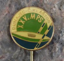 1978 International Canoe Kayak Whitewater Slalom Championships Slovak Pin Badge