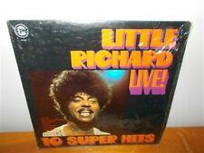 Little Richard . Live ! 10 Super Hits . LP