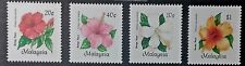 MALAYSIA 1984 HIBISCUS FLOWERS SG 304 - 307 MNH OG FRESH