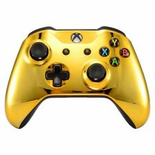 """""""GOLD"""" Xbox One S Custom Un-Modded Wireless Microsoft Controller with Bluetooth"""