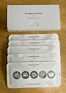 APPLE FACE MASK FULL SET S/M Designed By Apple - Staff Item Rare Collectable NEW