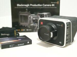 Blackmagic Production Camera 4K, EF mount, SSD Samsung EVO 860 500GB