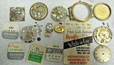 Gerard Perregaux  Antique wristwatch parts lot some working good lot