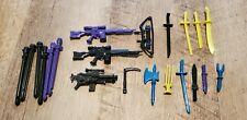 Gi Joe Vintage Weapons Lot Rare