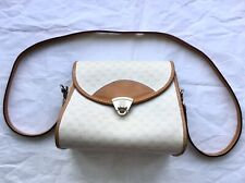 Vintage Gucci ivory/beige Women's Bag Purse with leather strap 001 133 2141 Used