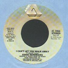 "Monster Modern Soul Eddie Kendricks - I Can't Let You Walk Away -  7"" Single!!!"