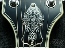 CROSS Brass Truss Rod Cover. Fits most Gibson Les Paul, SG and many others.