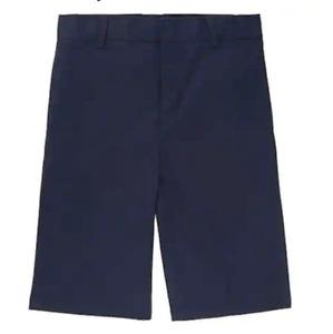FRENCH TOAST (2 PR) Boys School Uniform Flat Front Adj Wst SHORTS 12 14 16 NWT