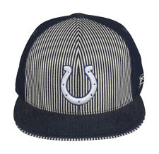 Indianapolis Colts NFL Reebok Fitted Hat Cap - Size 7 5/8