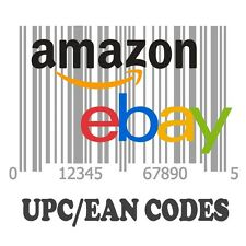 1.000 UPC/EAN Barcode Number For Selling on Amazon Ebay Etsy Shopify and More