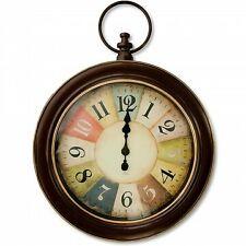 Antique Bronze Stopwatch Style Wall Clock