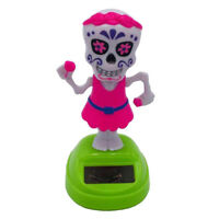 Funny Solar Dancing Toys Bobble Head Toy Halloween Ghost Dancing Figure Toy